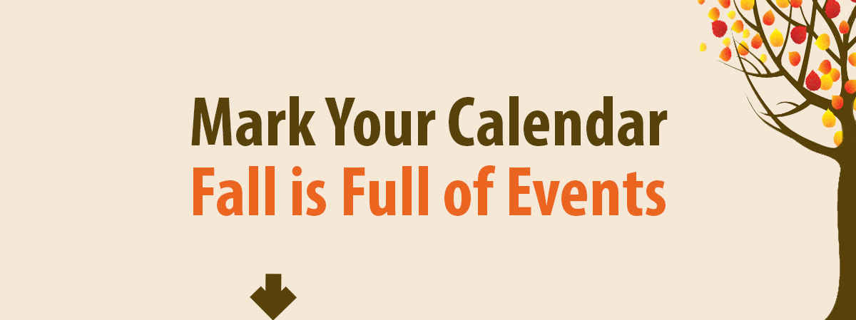 Stay on top of deadlines, opportunities, and more by checking the calendar page